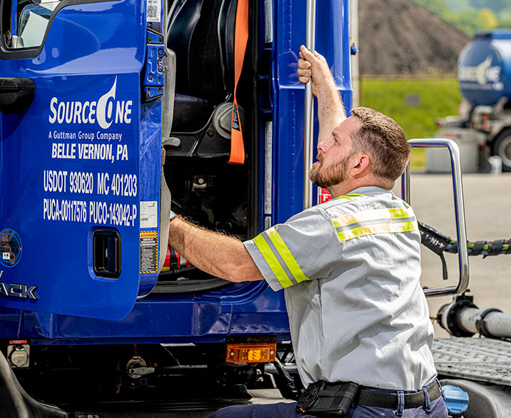 Srouce One Truck Driver